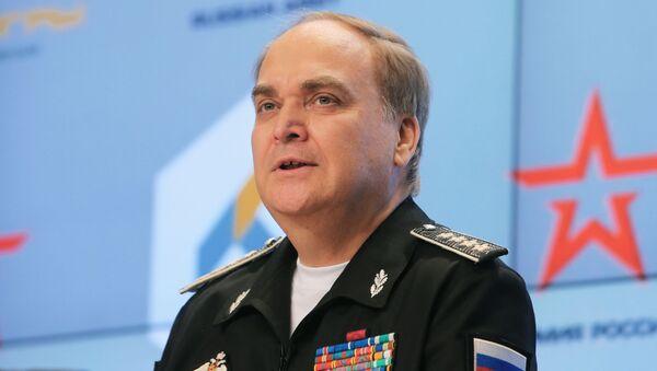 Náměstek ministra obrany RF Anatolij Antonov - Sputnik Česká republika
