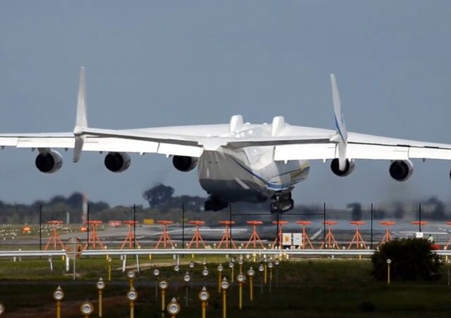 Letadlo An-225 Mrija