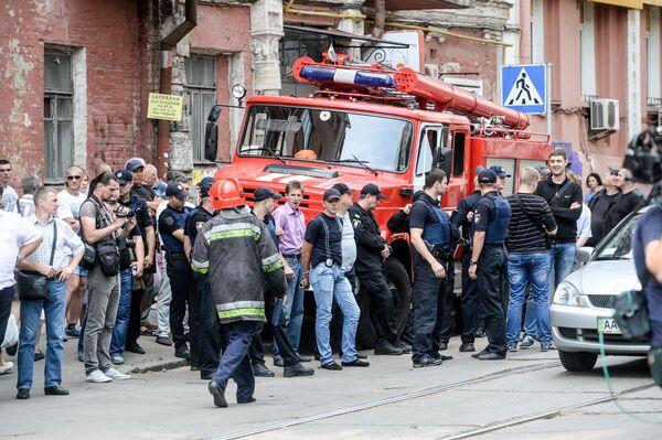 Když ne oheň, tak alespoň hlídka. Pokusy blokovat televizní stanici Inter - Sputnik Česká republika