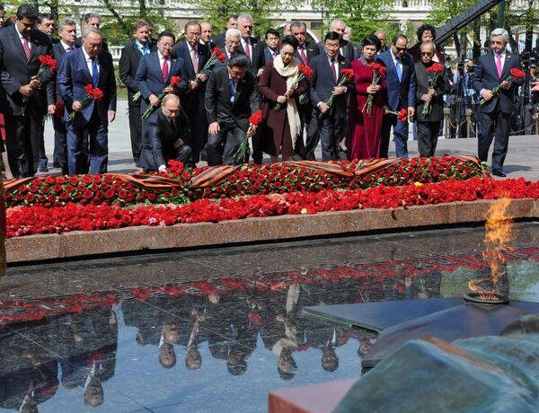 ПSvětoví lídři během oslav Dne Vítězství v Moskvě - Sputnik Česká republika