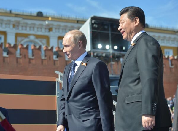 Světoví lídři během oslav Dne Vítězství v Moskvě - Sputnik Česká republika