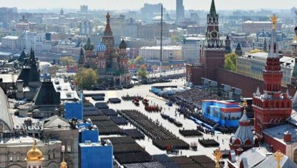 Přehlídka vítězství v Moskvě - Sputnik Česká republika