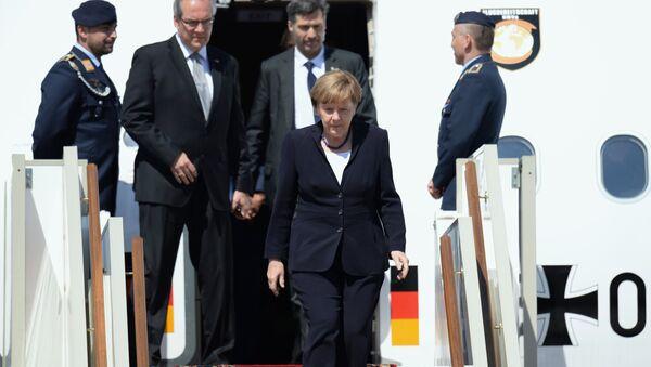 Angela Merkelová v Moskvě - Sputnik Česká republika