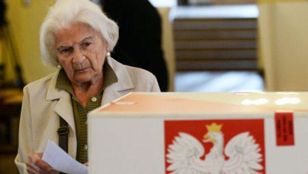Volby v Polsku - Sputnik Česká republika