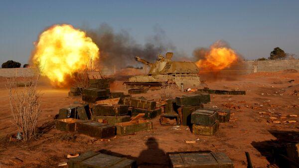 Boje s IS v Líbyi - Sputnik Česká republika