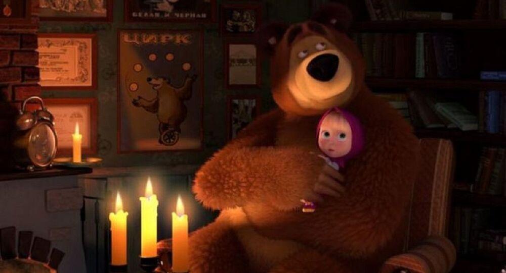 Máša a Medvěd. Ilustrační foto