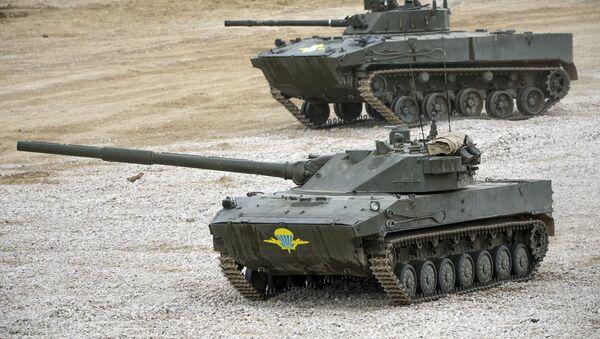 Sprut-SD a BMD-4 - Sputnik Česká republika