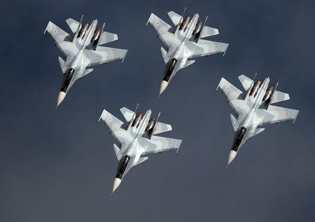 Stíhačky Su-30SM