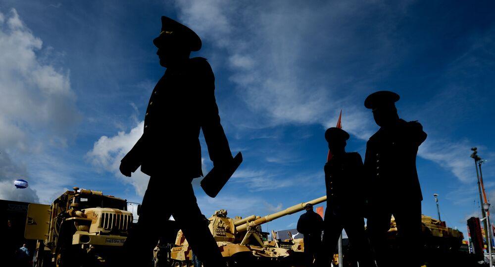 Výstavní panel Uralvagonzavodu na fóru Armáda 2016