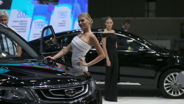 Moskevská mezinárodní výstava automobilů - Sputnik Česká republika