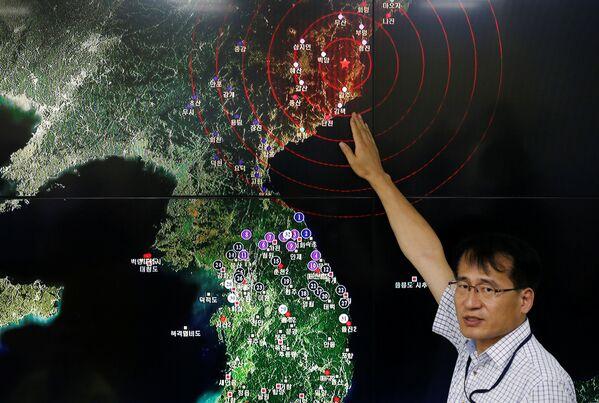 Podle odhadů Soulu mohla síla této pumy činit desítky kilotun - Sputnik Česká republika