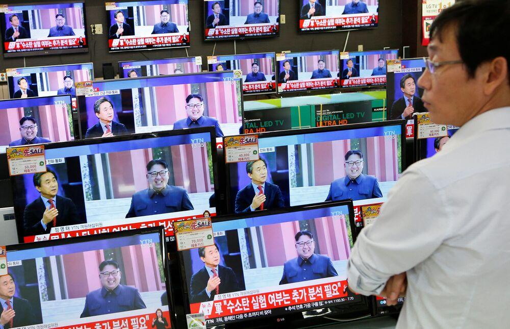 Korejská centrální zpravodajská agentura po zkoušce oznámila, že KLDR je schopna vybavit jadernými bojovými hlavicemi balistické rakety