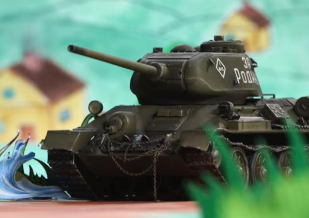 MO RF připravilo ke Dni tankistů dětský animovaný film o tanku T-34