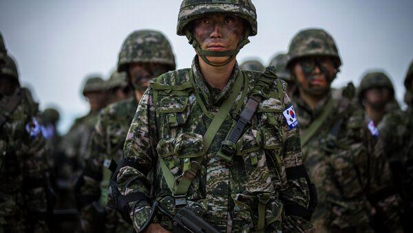 Jihokorejští vojáci - Sputnik Česká republika