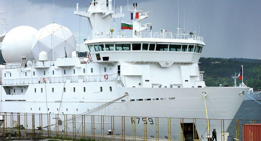 Francouzská výzvědná loď Dupuy-de-Lôme