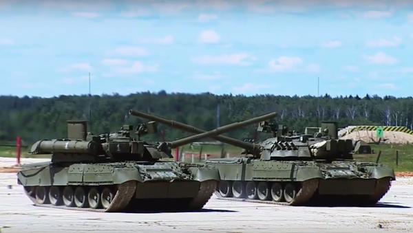 Ministerstvo obrany Ruska poprvé publikovalo video bojových možností Armaty - Sputnik Česká republika