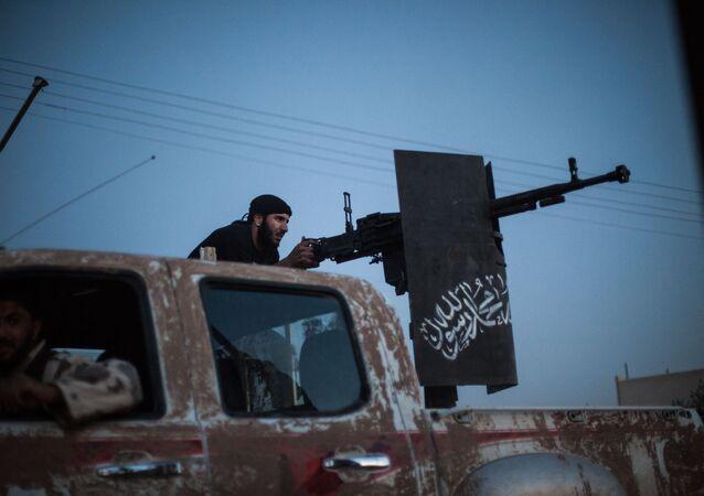 Příslušník organizace Ahrar aš-Šám