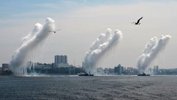 Oslavy Dne vojenského námořnictva ve Vladivostoku - Sputnik Česká republika