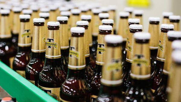 Výroba piva. Ilustrační foto - Sputnik Česká republika