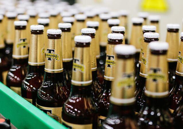 Výroba piva v Ivanovské oblasti. Ilustrační foto