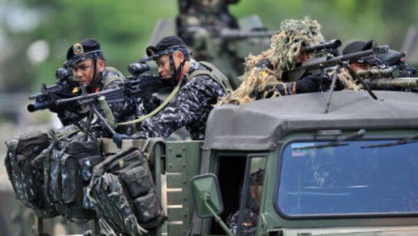Filipínští vojáci - Sputnik Česká republika