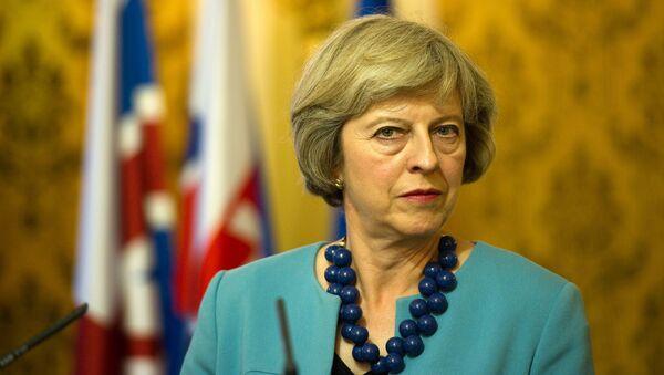 Ministerská předsedkyně Velké Británie Theresa Mayová - Sputnik Česká republika