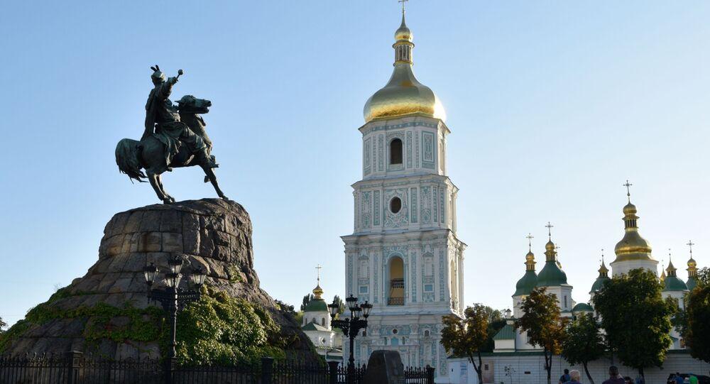 Sofijské náměstí v Kyjevě