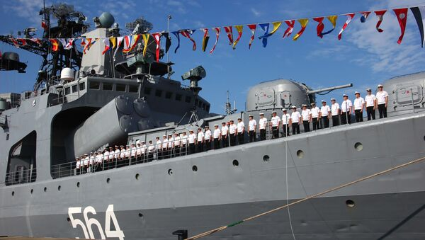 Zahájení největších rusko-čínských cvičení Námořní spolupráce 2016. Archivní foto - Sputnik Česká republika