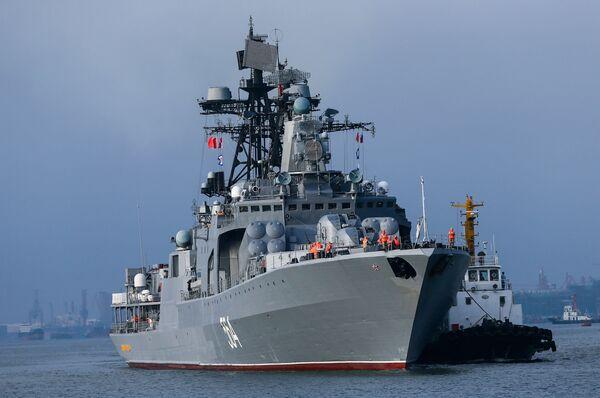 Zahájení největších rusko-čínských cvičení Námořní spolupráce 2016 - Sputnik Česká republika