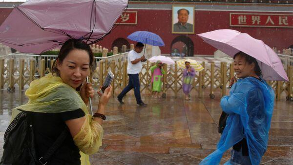 Déšť v Pekingu - Sputnik Česká republika