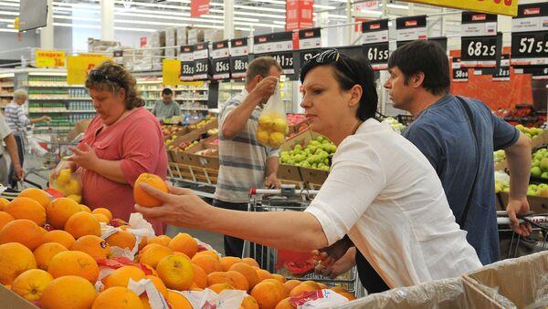 Supermarket Ašan v Rostově na Donu - Sputnik Česká republika