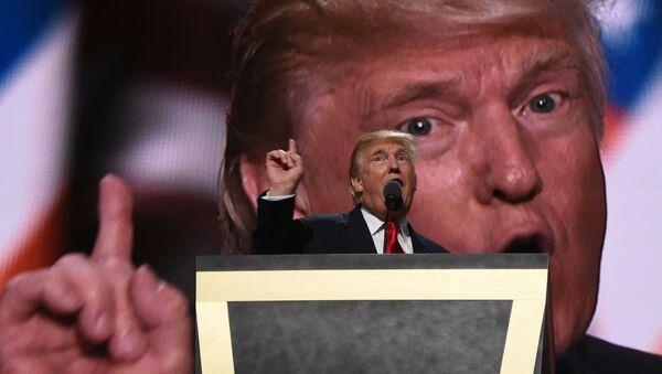 Kandidát na funkci prezidenta USA Donald Trump - Sputnik Česká republika