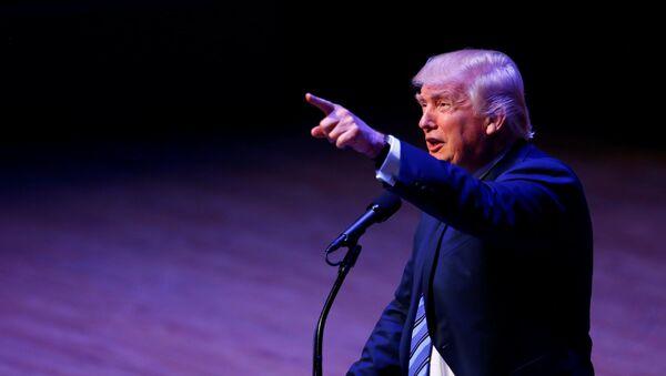 Republikánský kandidát na prezidenta USA Donald Trump - Sputnik Česká republika