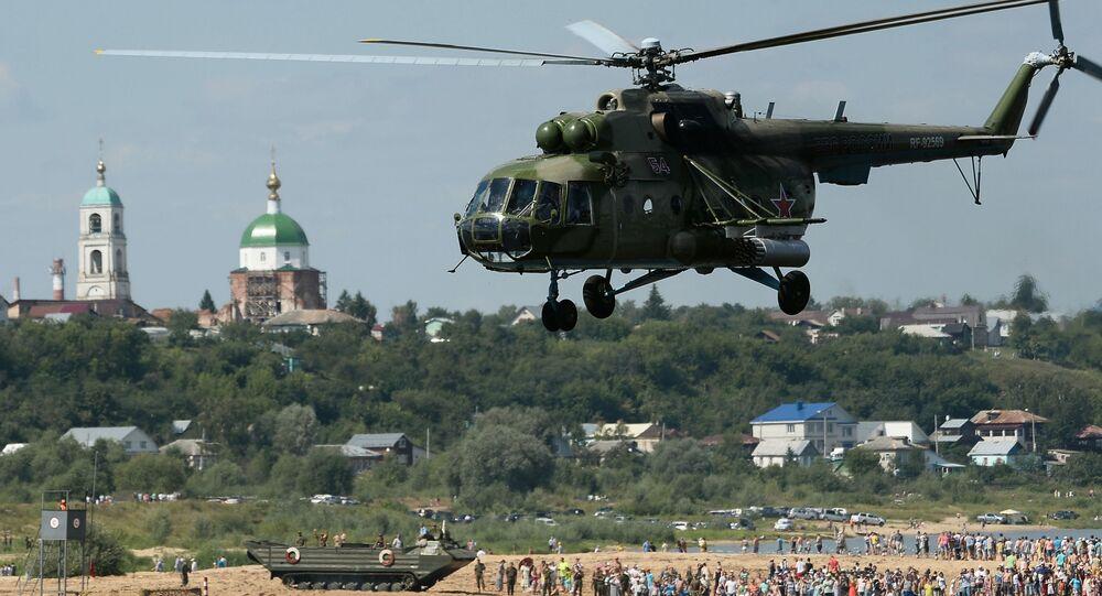 Vrtulník Mi-8