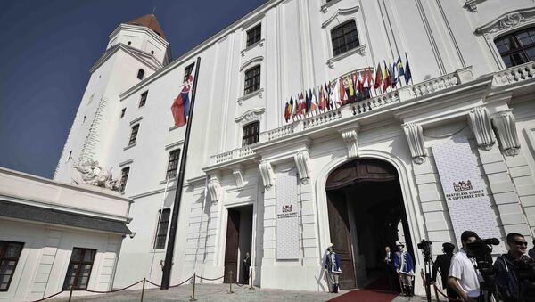 Před začátkem summitu EU v Bratislavě - Sputnik Česká republika