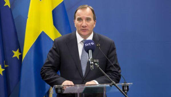 Švédský premiér Stefan Löfven - Sputnik Česká republika