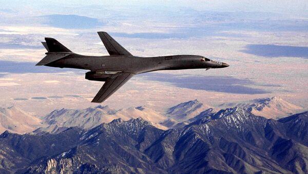 Americký bombardér B-1B Lancer - Sputnik Česká republika