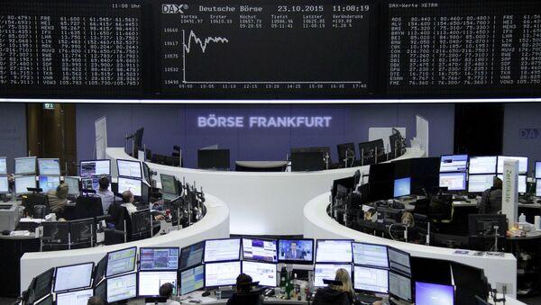 Burza ve Frankfurtu - Sputnik Česká republika