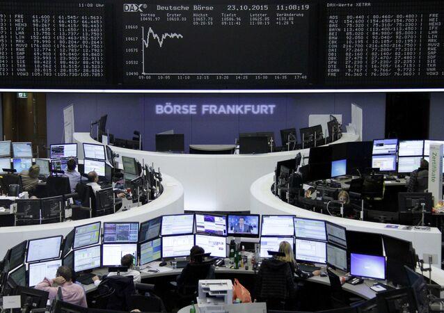 Burza ve Frankfurtu