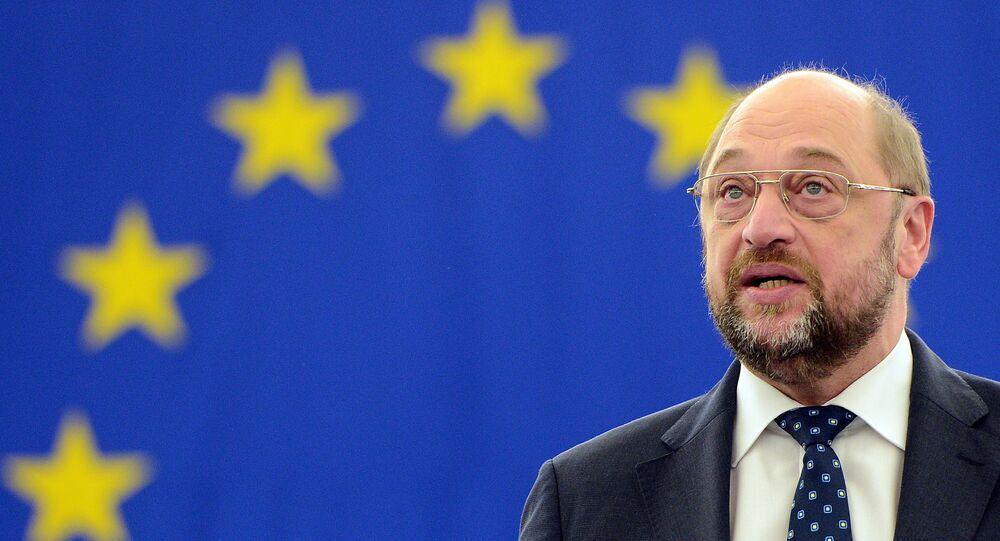 Prezident Evropského parlamentu Martin Schulz