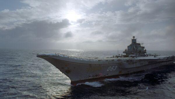 Тяжелый авианесущий крейсер Адмирал Кузнецов. - Sputnik Česká republika