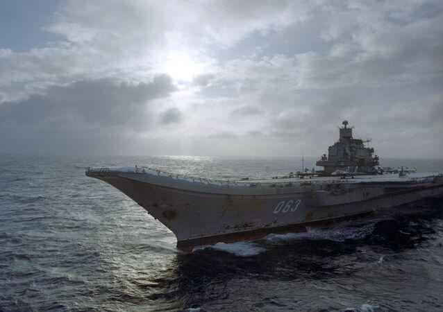 Тяжелый авианесущий крейсер Адмирал Кузнецов.