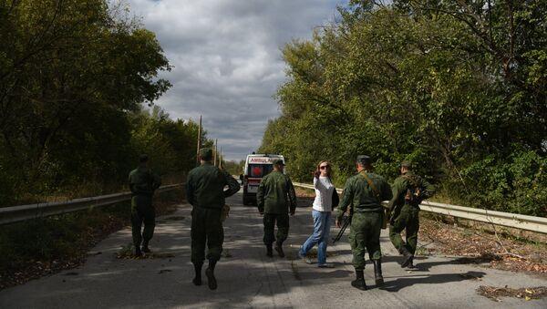 Výměna zajatců v Luhanské oblasti - Sputnik Česká republika