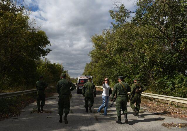 Výměna zajatců v Luhanské oblasti