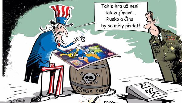 Nebezpečná hra - Sputnik Česká republika