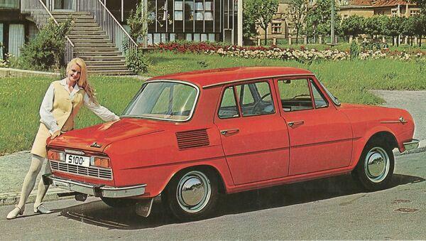Reklama automobilu Škoda S100 - Sputnik Česká republika