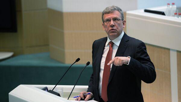 Exministr financí a předseda rady Střediska strategických elaborátů Alexej Kudrin - Sputnik Česká republika