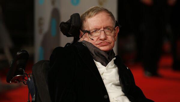 Britský fyzik, nositel Nobelovy ceny Stephen Hawking - Sputnik Česká republika