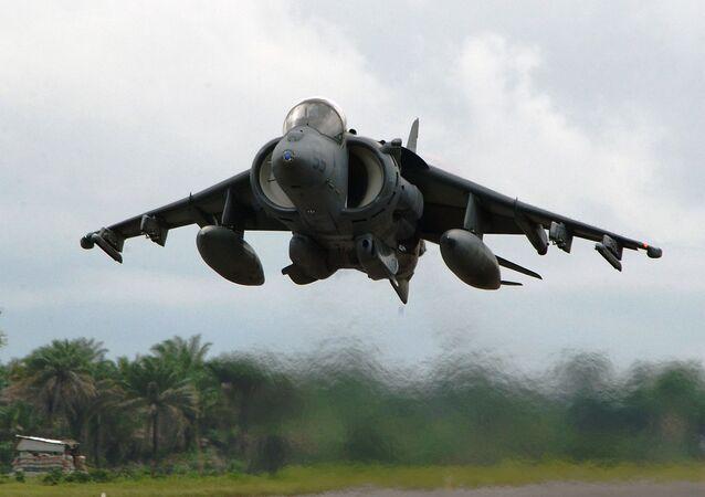 Americký bitevní letoun McDonnell Douglas AV-8B Harrier II