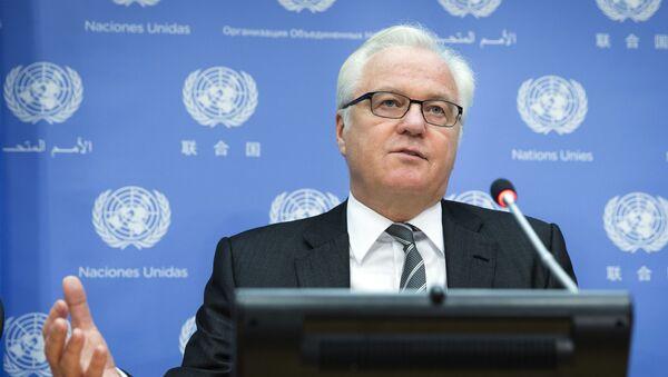 Stálý představitel Ruska v OSN Vitalij Čurkin - Sputnik Česká republika